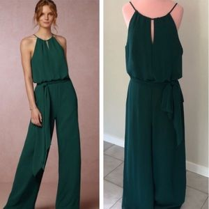 Anthropologie BHLDN Donna Morgan Jackie Jumpsuit